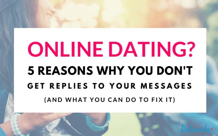 I'm Online Dating Why Am I Not Getting a Response to My Messages?