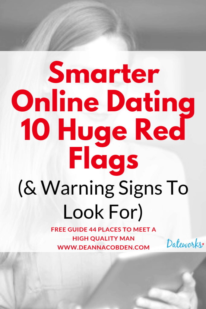 Smarter Dating - 10 Huge Red Flags and Warning Signs