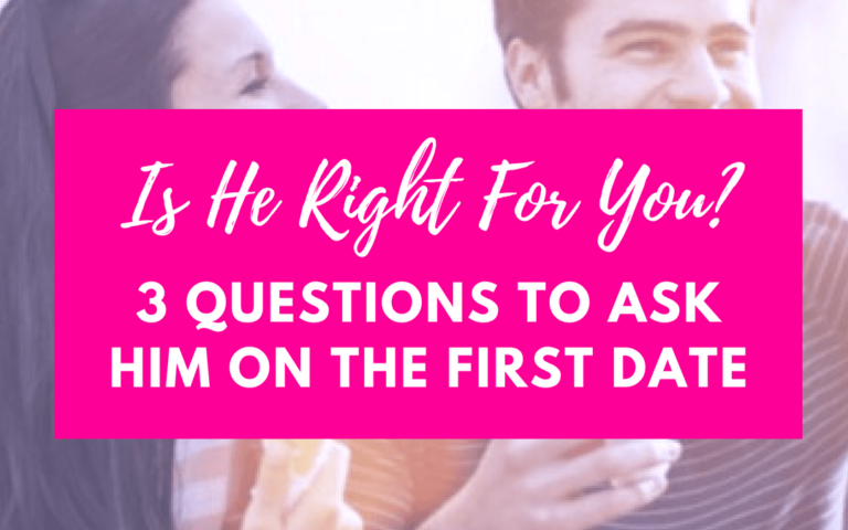 3 Perfect Questions To Ask Him On Your First Date (Is He The One For You?)