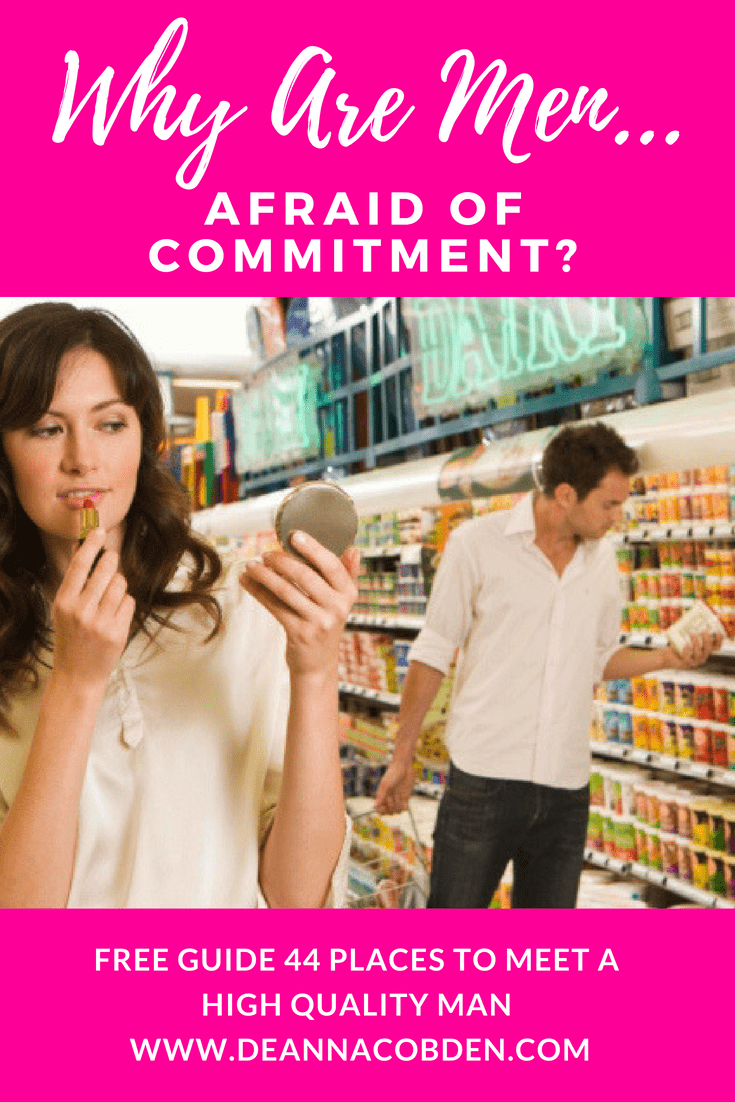 Are Men Afraid of Commitment