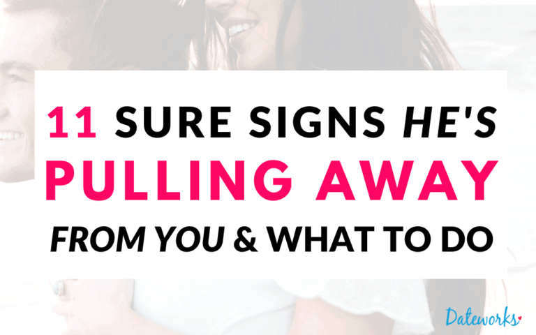 11 Warning Signs He's Pulling Away From You (Exact Ways To Tell)