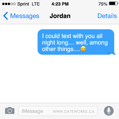 What To Say To Flirt With Him Via Text Messaging